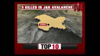 5 Killed as Vehicle Comes Under Avalanche in Jammu and Kashmir
