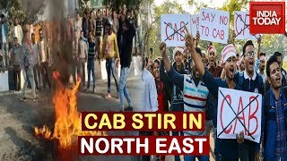 CAB Stir: Bandh Agitators Clash With Security Forces In Assam Train Services Affected