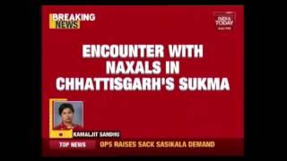11 CRPF Jawans Martyred In Encounter With Naxals At Chattisgarh