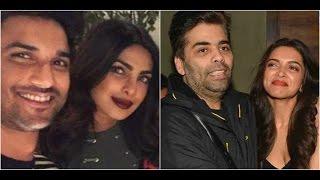 Sushant Speaks About Deepika & Priyanka | Deepika Is Not A Part Of Karan's Show With Vin Diesel