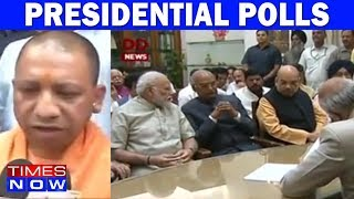 Yogi Adityanath On NDA's Show Of Strength For Presidential Polls