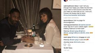 Idris Elba's fiancée shows him the love