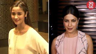 Alia Wants To Turn A Producer | It Was Raining Stars At Priyanka's Party