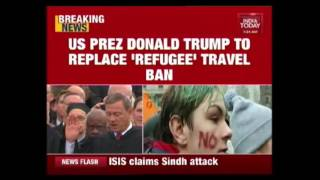 US President, Donald Trump To Revise 'Muslim' Travel Ban