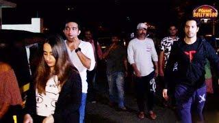 Girlfriend Natasha Dalal Joins Varun Dhawan And His Family For A Movie | Bollywood News