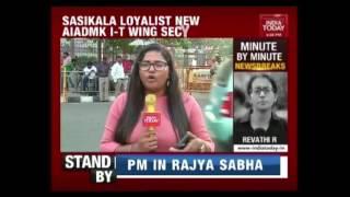 Sasikala & MLAs To Travel To Delhi Tomorrow To Meet President