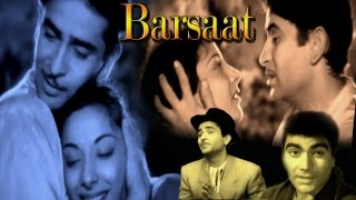 Barsaat 1949 || Hindi Full Movie || Raj Kapoor, Nargis, Premnath