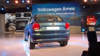 Volkswagen Ameo Launch at 2016 Auto Expo