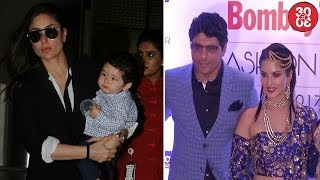 Kareena Returns To The City With Taimur | John, Sunny, Kriti Attend Bombay Times Fashion Week