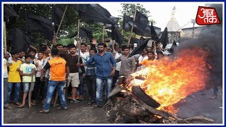 Maharashtra Farmers' Protest Land Acquisition; Vehicles Torched On Thane-Badlapur Highway