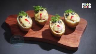 Mummy Ka Magic   Mix Vegetable Jacket Potatoes Recipe   Amrita Raichand