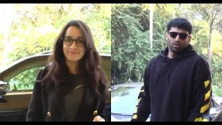 Ex Lovers Aditya And Shraddha Travel Seperately | OK Jaanu Promotions