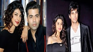 Priyanka Reveals Spicy Secrets On Karan's Show | Sidharth Confesses Being Protective Of Alia
