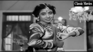 Chale jaiyo bedarda main roye maroongi || Beqasoor 1950 | Madhubala, Ajit