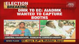 DMK Launches Complaint Against AIADMK On Wanting To Capture Booths| Lok Sabha Elections 2019