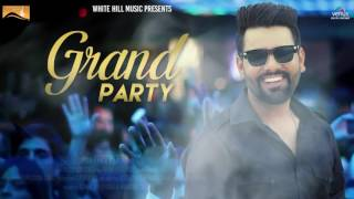 Grand Party (Motion Poster) | Pavvy Dhanjal | White Hill Music | Full Song Coming Soon