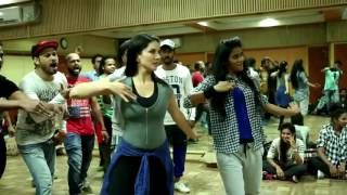 Behind the Scenes from Choli Blockbuster rehersals