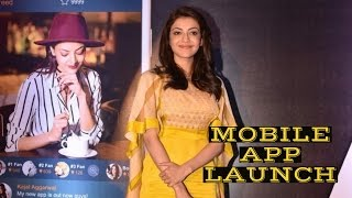 Hottie Kajal Aggarwal's Mobile App Launch
