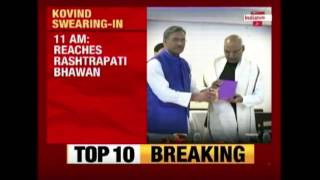 Ramnath Kovind To Be Sworn In As 14th President Today