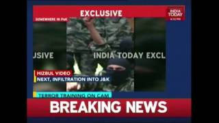 Hizbul Video Shows Heavily Armed Militants