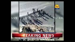Tez Exclusive: Chinese Troops Crossing To Indian Side Caught On Camera