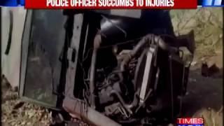 Naxalites Attack Mine Protected Vehicle Of Security Forces In Gadchiroli, One Dead