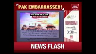 Pak Tableau At SCO Event Shows Delhi's Red Fort as Lahore's Shalimar Gardens