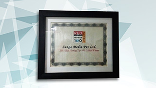 Zenga wins Top 100 Red Herring Award 2011