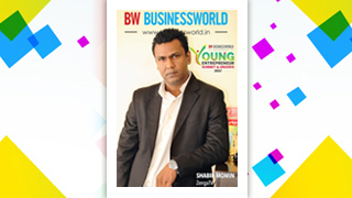 Mr Shabir Momin, MD & CTO, Zenga TV, bagged Business world Young Entrepreneur Award 2017.