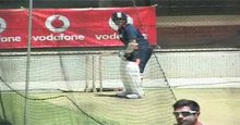 Sachin Tendulkar net practice shot 2 Live TV Streaming