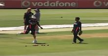 India practice Sachin throwing ball Live TV Streaming