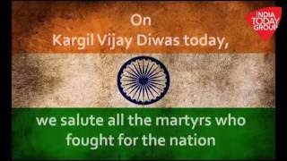Watch Exclusive: Indian Army Honors Martyrs of 1999 Kargil