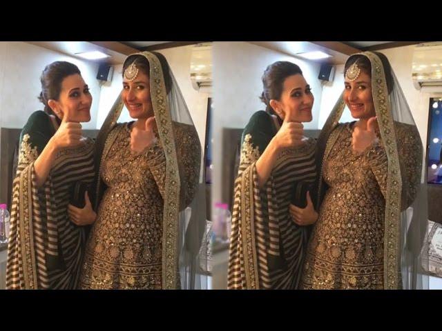 Watch Karisma Kapoor Gives Kareena Kapoor Khan Pregnancy