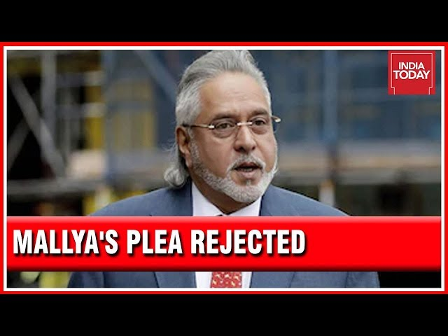 Watch UK Court Rejects Vijay Mallya's Application Against