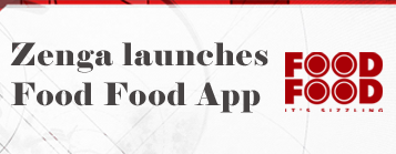 Zenga partners with FOOD FOOD and launches its App