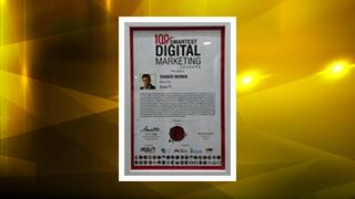 Mr Shabir Momin, MD & CTO, Zenga TV, 100 Smartest Digital Marketing Leaders Award 2018.