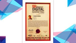 "Mr Shabir Momin, MD & CTO, Zenga TV, has been honored with ""100 Smartest Digital Marketing Leaders"" at World Digital Marketing Congress & Awards."