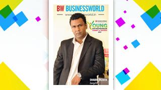 Mr Shabir Momin, MD & CTO, Zenga TV, bagged Business world Young Entrepreneur Award 2017.
