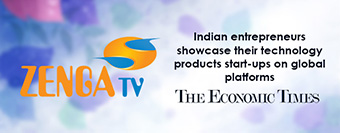 Indian entrepreneurs showcase their technology products start-ups on global platforms