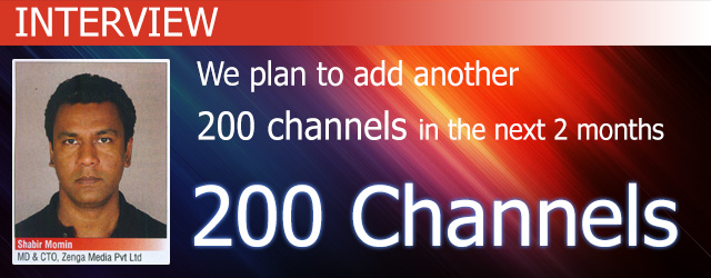 We plan to add another 200 channels in the next 2 months